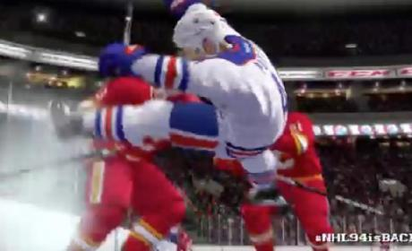 NHL 14 Trailer (NHL 94 Anniversary Mode)