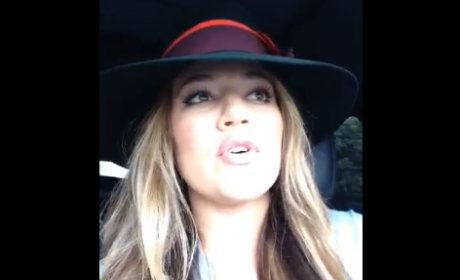 Khloe Kardashian Sends Message to Kim Kardashian
