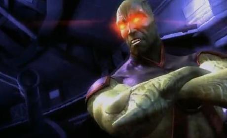Martian Manhunter Injustice DLC Trailer