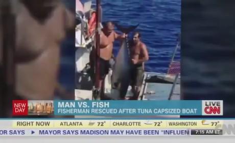 Tuna Capsizes Boat: Report