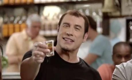 John Travolta: Movin and Groovin in Brazillian Rum Commercial