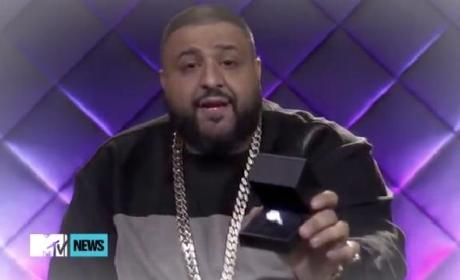 DJ Khaled Proposes to Nicki Minaj