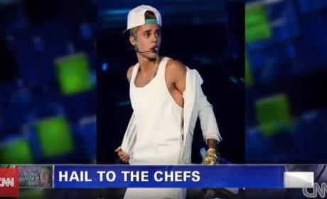 Mario Batali on Justin Bieber