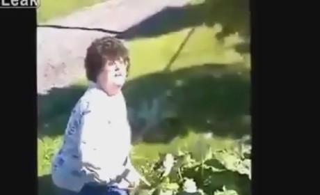 Crazy Rhubarb Lady