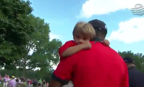 Tiger Woods, Son Charlie