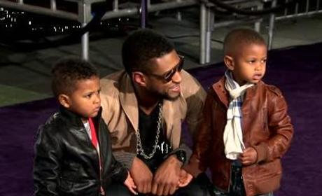 Usher's Son Nearly Drowns: Report