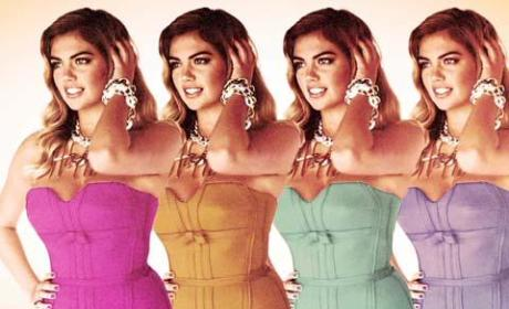 Kate Upton Elle Cover Shoot