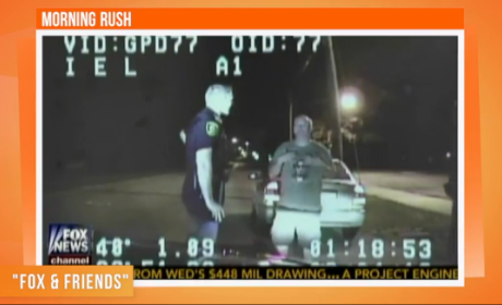 Man Dances During Sobriety Test