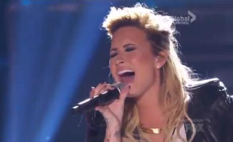 Demi Lovato Teen Choice Awards Performances