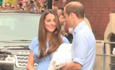 Kate Middleton, Prince William to Use Personal Photos For Official Prince George Portrait?