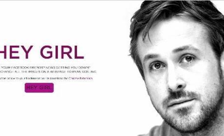 Hey Girl Extension Equals Ryan Gosling Photos