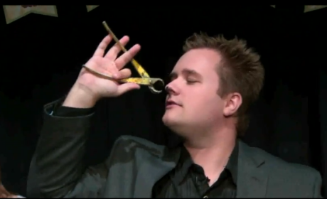 Magician Performs Trick On Air, Totally Grosses Out Reporters