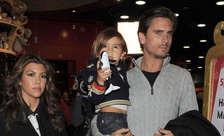 Kourtney Kardashian Konfirms: Scott is Mason's Father!