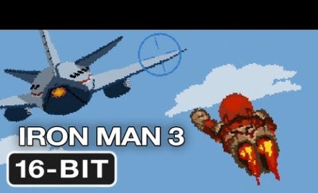Iron Man 3: In 16-Bit Video Game Form!