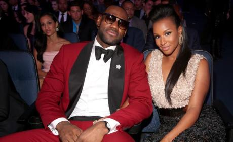 LeBron James Denies Cheating on Fiancee with Carmen Ortega