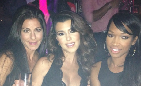 Kourtney Kardashian in Las Vegas