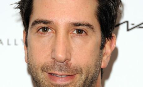 David Schwimmer Targeted With Anti-Ross Graffiti