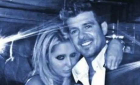 Robin Thicke Grabs Headlines, Fan's Butt