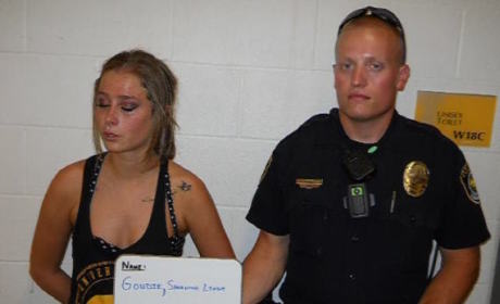 "Samantha Lynn Goudie Gets WASTED at College Football Game, Tweets ""Epic"" BAC from Jail"