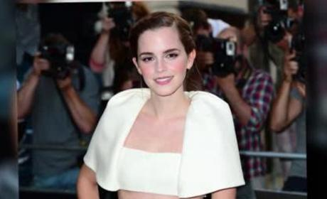 Emma Watson Bares Midriff, Wins Woman of the Year at GQ Men of the Year Awards
