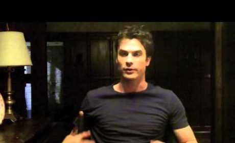 Ian Somerhalder Set Visit Interview