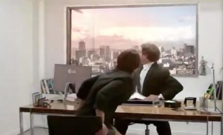 Meteor Prank Freaks Out Job Applicants, Shows Off LG HD TV Quality