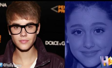 Justin Bieber Sends Ariana Grande Flirty Texts
