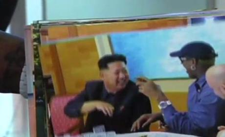 Dennis Rodman Returns From North Korea, Reveals Kim Jong Un's Daughter's Name