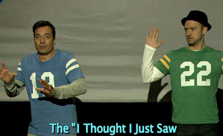 Justin Timberlake and Jimmy Fallon Present: The Evolution of the End Zone Dance!