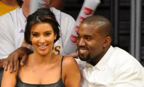 Kim Kardashian and Kanye West Klash: New Baby or Old Boobs?