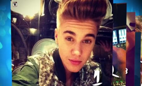 Justin Bieber Mustache Tracker