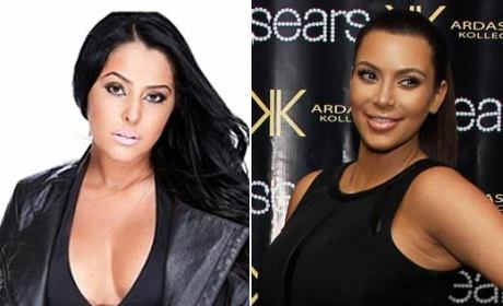 Myla Sinanaj Wants to Be Like Kim Kardashian
