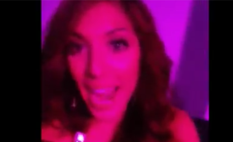 Farrah Abraham Keeks Out at Club, is Totally Winning at Life