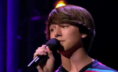 Stone Martin on The X Factor