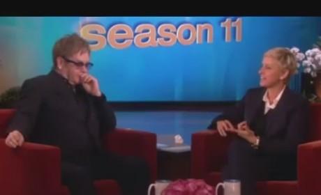 Elton John Praises Miley Cyrus