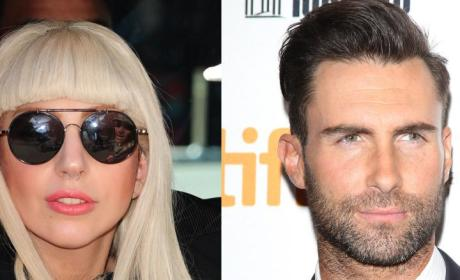 Adam Levine Calls Out Lady Gaga in Surprise Twitter Feud