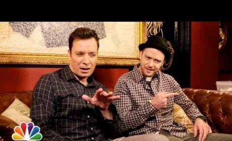 Jimmy Fallon, Justin Timberlake #Hashtag Entire Conversation on Late Night
