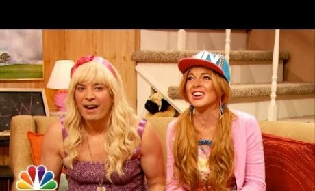 """Ew"" with Jimmy Fallon and Lindsay Lohan"