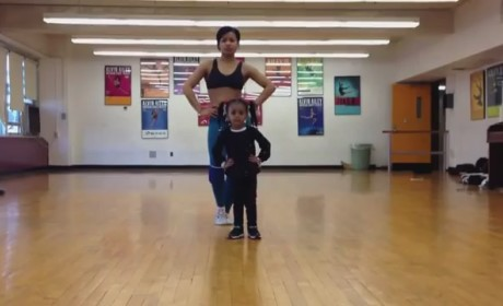 Two-Year-Old Dances to Beyonce