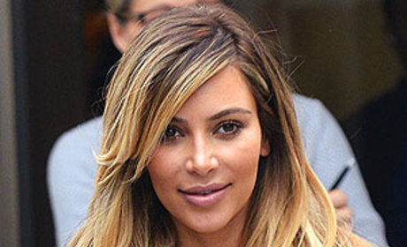 "Kim Kardashian Wears ""Nori"" Necklace, Short Skirt in Paris"