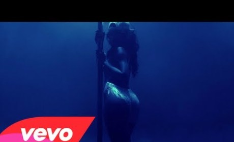 "Rihanna ""Pour It Up"" Music Video: Twerking, Grinding & Stripping Up a Storm!"