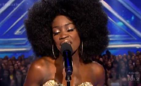 Lillie McCloud on The X Factor
