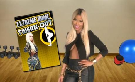 Nicki Minaj: Extreme Home Twerk-Out