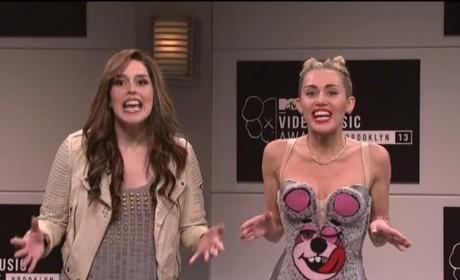 Miley Cyrus SNL Sketch