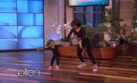 Heaven: Three-Year-Old Beyonce Dancer!