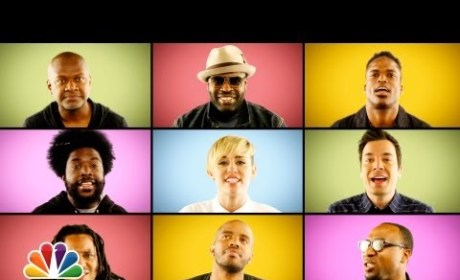 "Miley Cyrus and The Roots - ""We Can't Stop"""