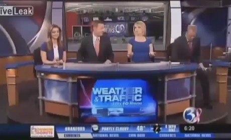 Anchor Eats Cat Vomit on Air, Mistakes It for Grape-Nuts
