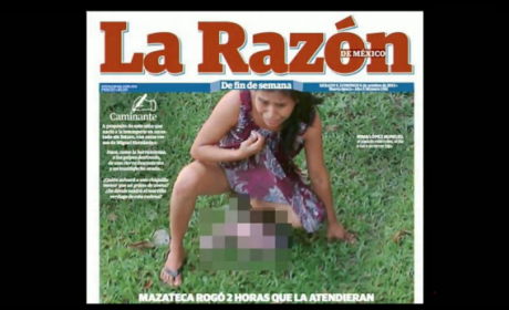 Indigenous Woman Gives Birth on Hospital Lawn In Mexico