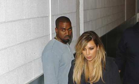 Kim Kardashian and Kanye West Attend Parenting Klass