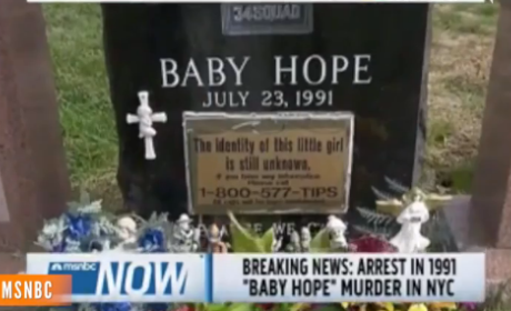 Baby Hope Case: Conrado Juarez Arrested in 1991 Death of Anjelica Castillo